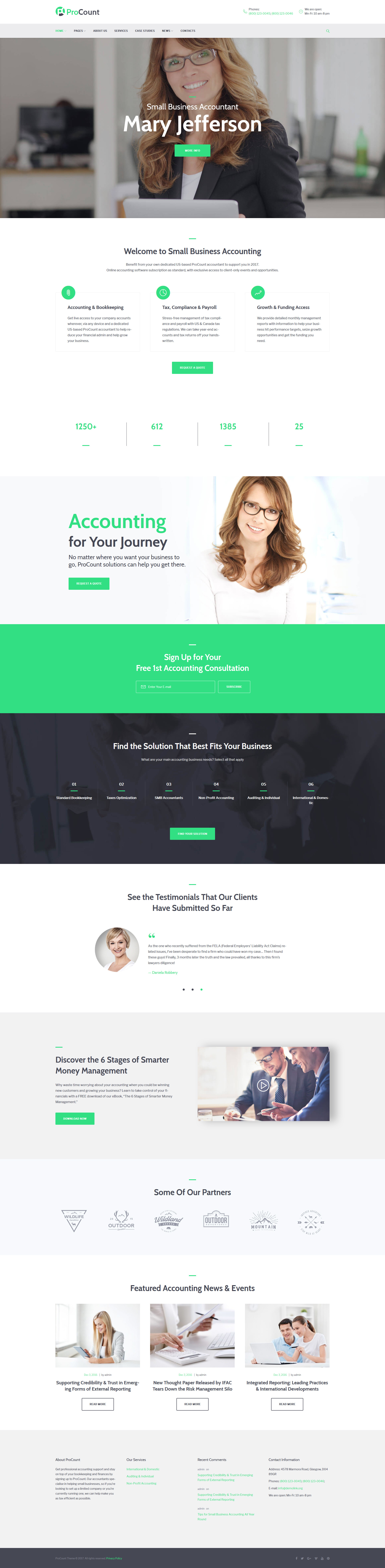 Accounting Website Templates Archives   Zemez Wordpress Throughout Accounting Website Templates Wordpress