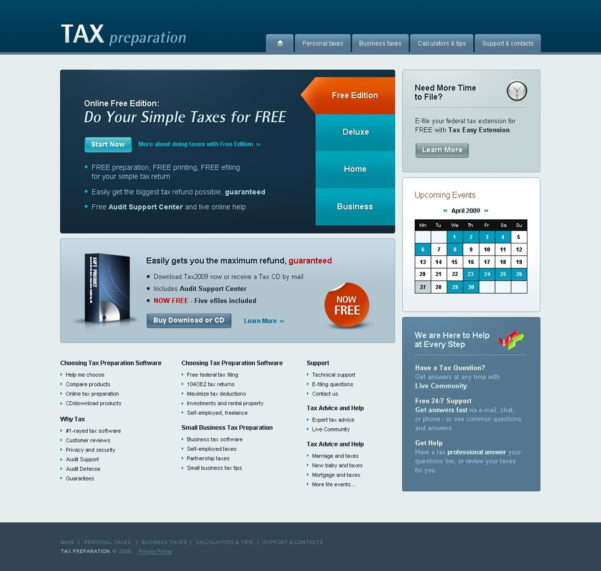 Accounting Website Website Template #25125 For Accounting Website Templates Free Download