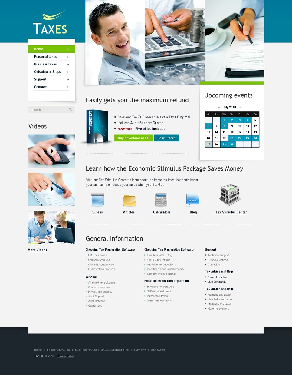 Accounting Website Website Template #30624 Intended For Chartered Accountant Website Templates Free Download