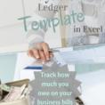 Accounts Payable Ledger Throughout Free Accounts Payable Ledger Template