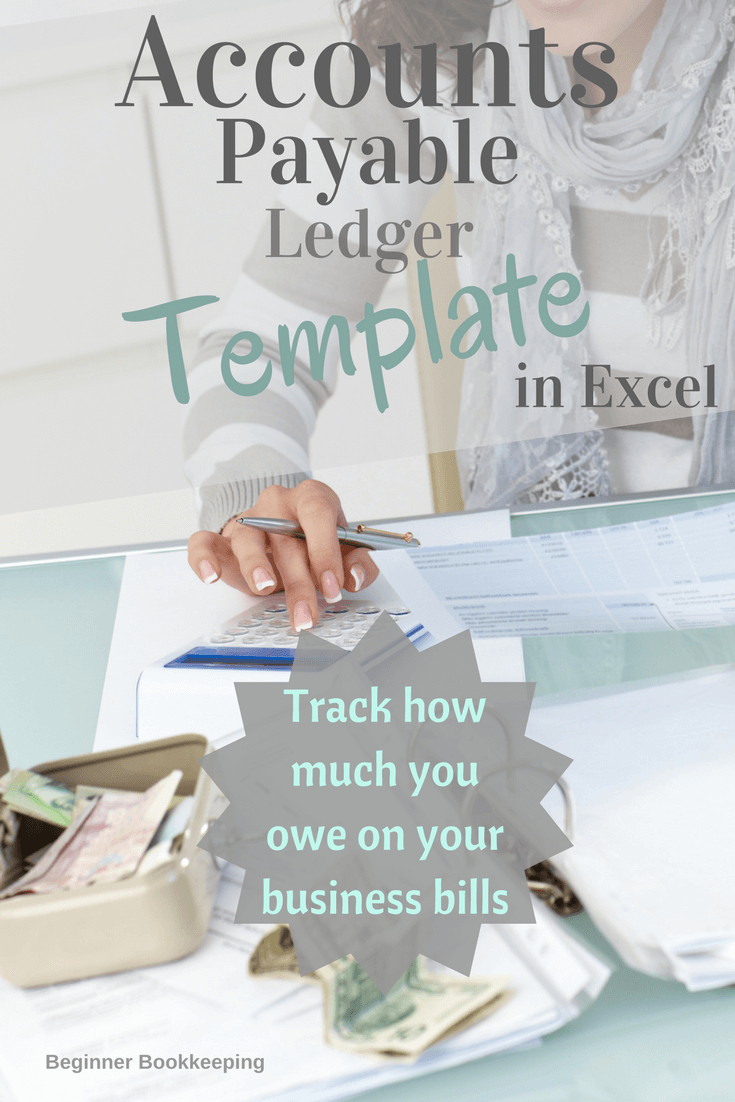 Accounts Payable Ledger Throughout Free Accounts Payable Ledger Template