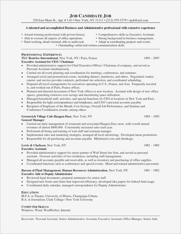 Accounts Payable Resume Template Fresh Free Pdf Resume Templates With Free Accounts Payable Templates