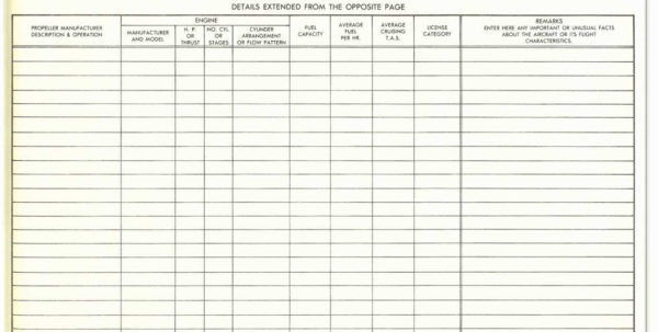 Aircraft Maintenance Tracking Spreadsheet Fresh Aircraft Maintenance For Maintenance Tracking Spreadsheet