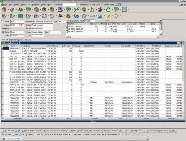 Aircraft Maintenance Tracking Spreadsheet | Qualads Intended For Inside Aircraft Maintenance Tracking Spreadsheet