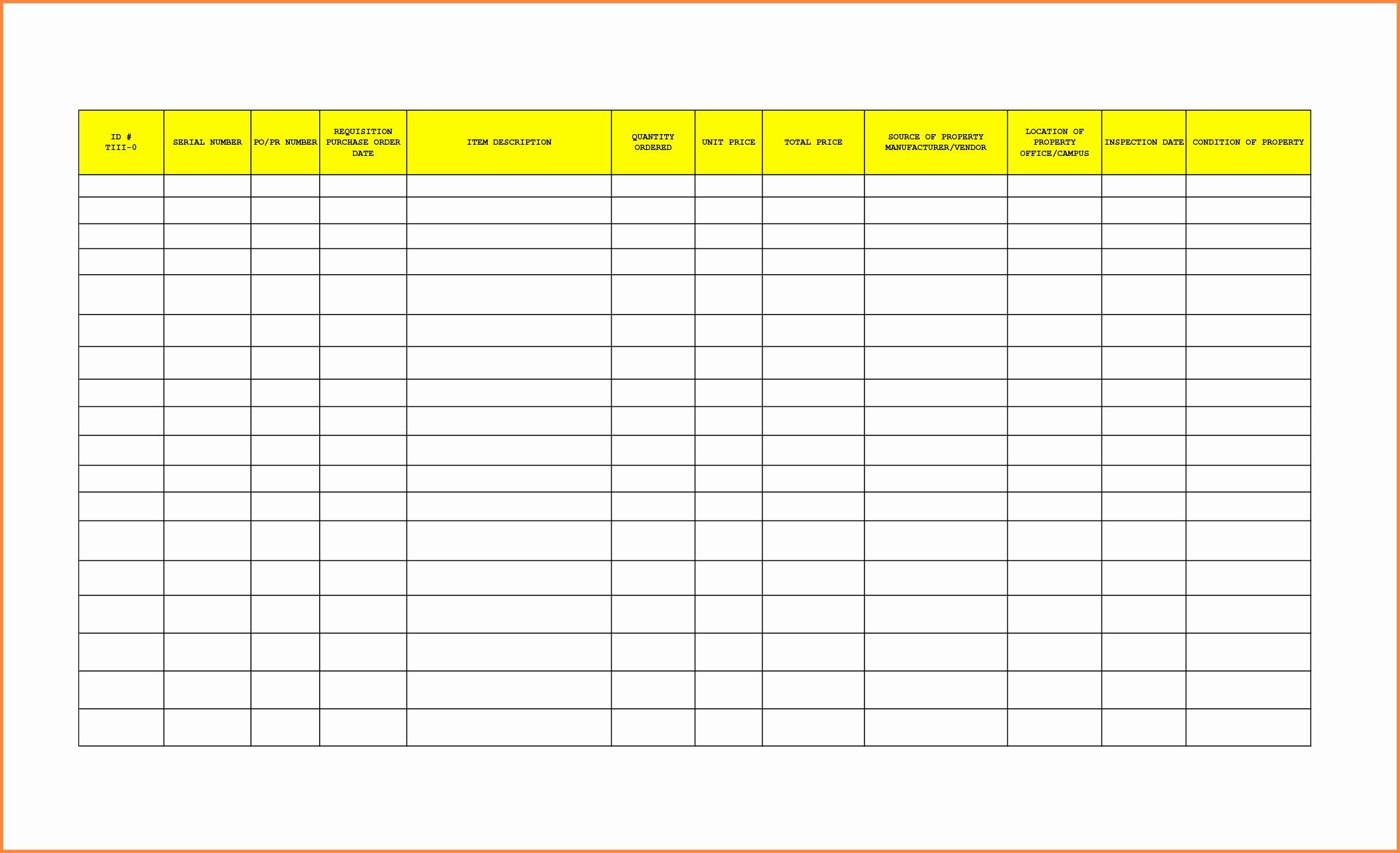 bar inventory list template inventory spreadshee bar