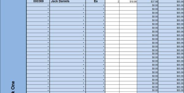 Bar Liquor Inventory Spreadsheet | Homebiz4U2Profit For Bar Inventory Spreadsheet Download