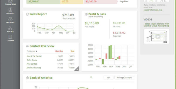 Best Free Accounting Software For Small Business   Slickpie Online Intended For Free Accounting Software For Small Business Free Download Full Version