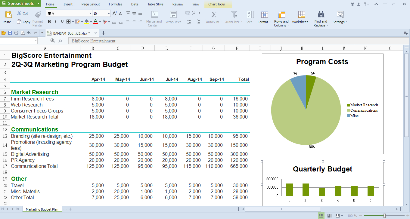 Best Office Run On Linux Platform, Wps Office For Linux   Wps Office With Office Spreadsheet Free