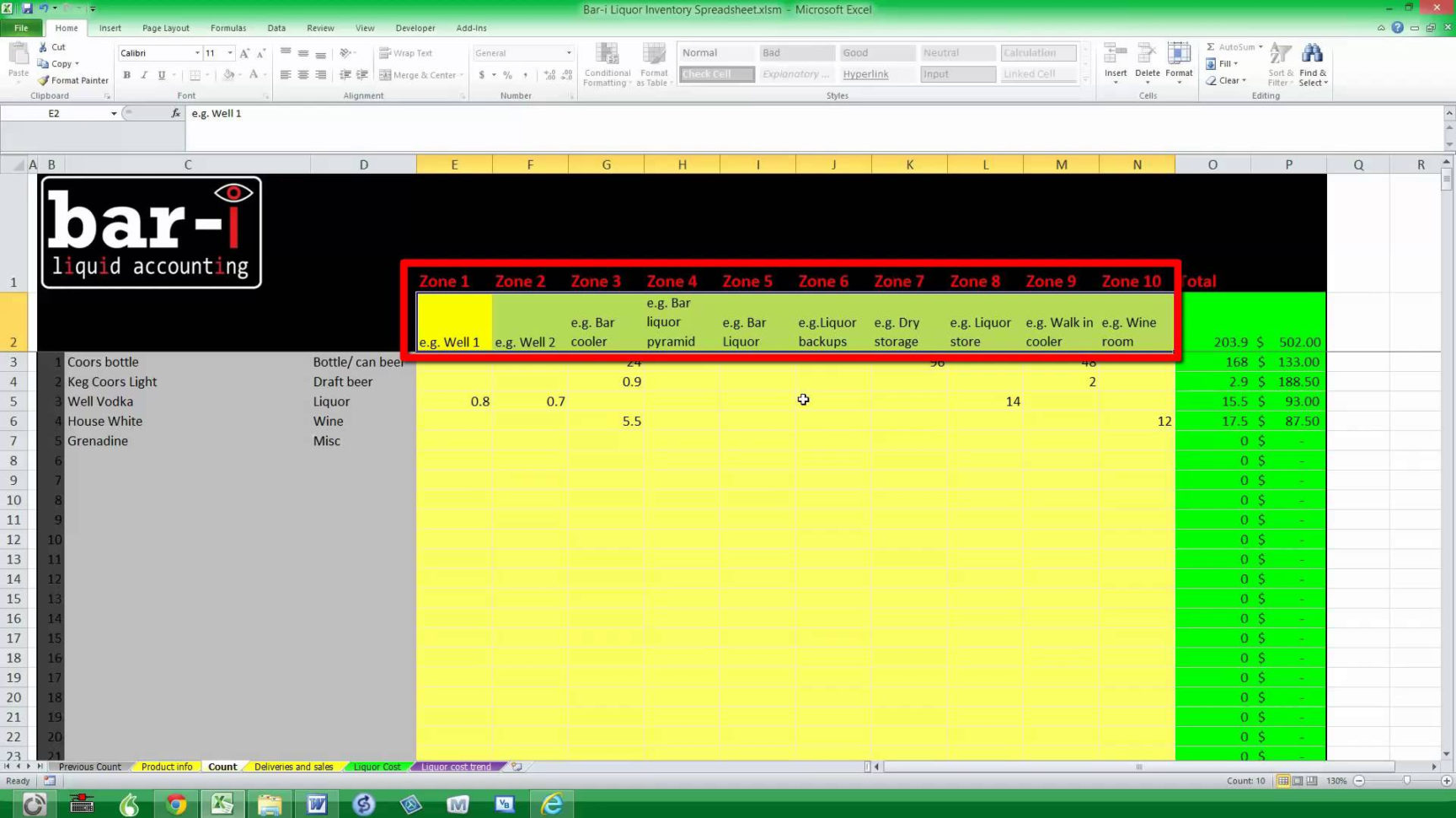 Beverage Inventory Spreadsheet Maxresdefault Sheet Free Bar Template Inside Free Bar Inventory Sheets