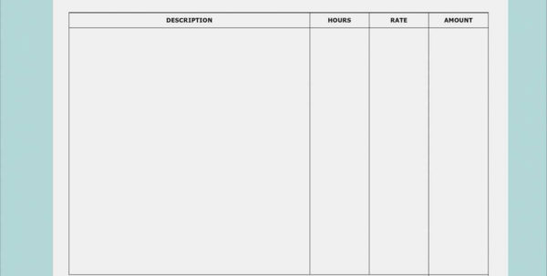 Bills Spreadsheet Template 13 Inspiration Microsoft Excel Invoice With Invoice Spreadsheet