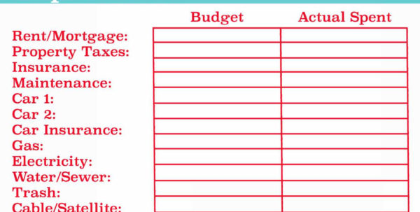 Bills Spreadsheet Template Spreadsheets Used In Business For Monthly With Bills Spreadsheet Template