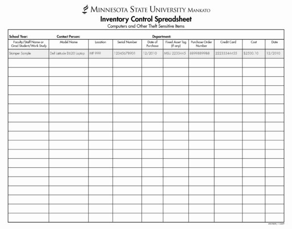 Blank Inventory Spreadsheet Awesome Blank Spreadsheet Printable In Blank Inventory Sheet Template
