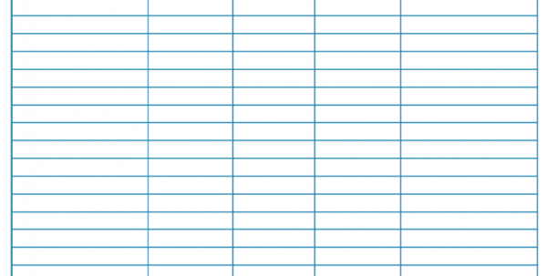 Blank Monthly Budget Worksheet   Frugal Fanatic In Spreadsheets Free