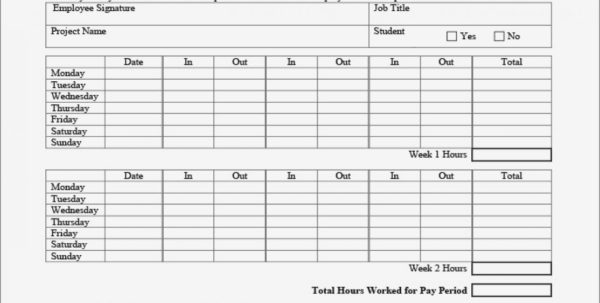 Blank Timesheet Template Biweekly Payroll Perfect Plus Sample Excel And Biweekly Payroll Timesheet Template