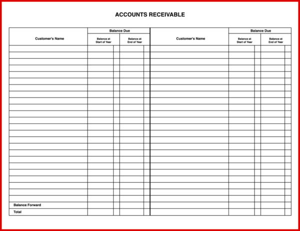 Bookkeeping Ledger Templates Free   Durun.ugrasgrup Intended For Free Accounts Payable Ledger Template