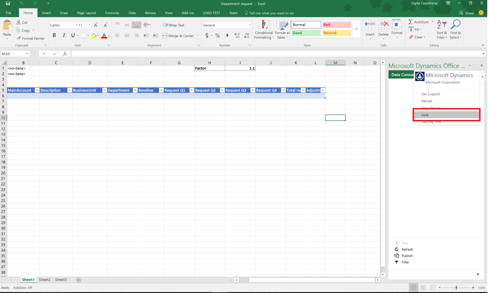 Budget Planning Templates For Excel   Finance & Operations Intended For Budget Plan Spreadsheet