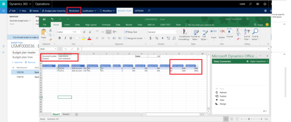 Budget Planning Templates For Excel   Finance & Operations Throughout Budgeting Tool Excel