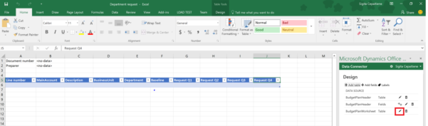Budget Planning Templates For Excel   Finance & Operations To Budget Plan Spreadsheet