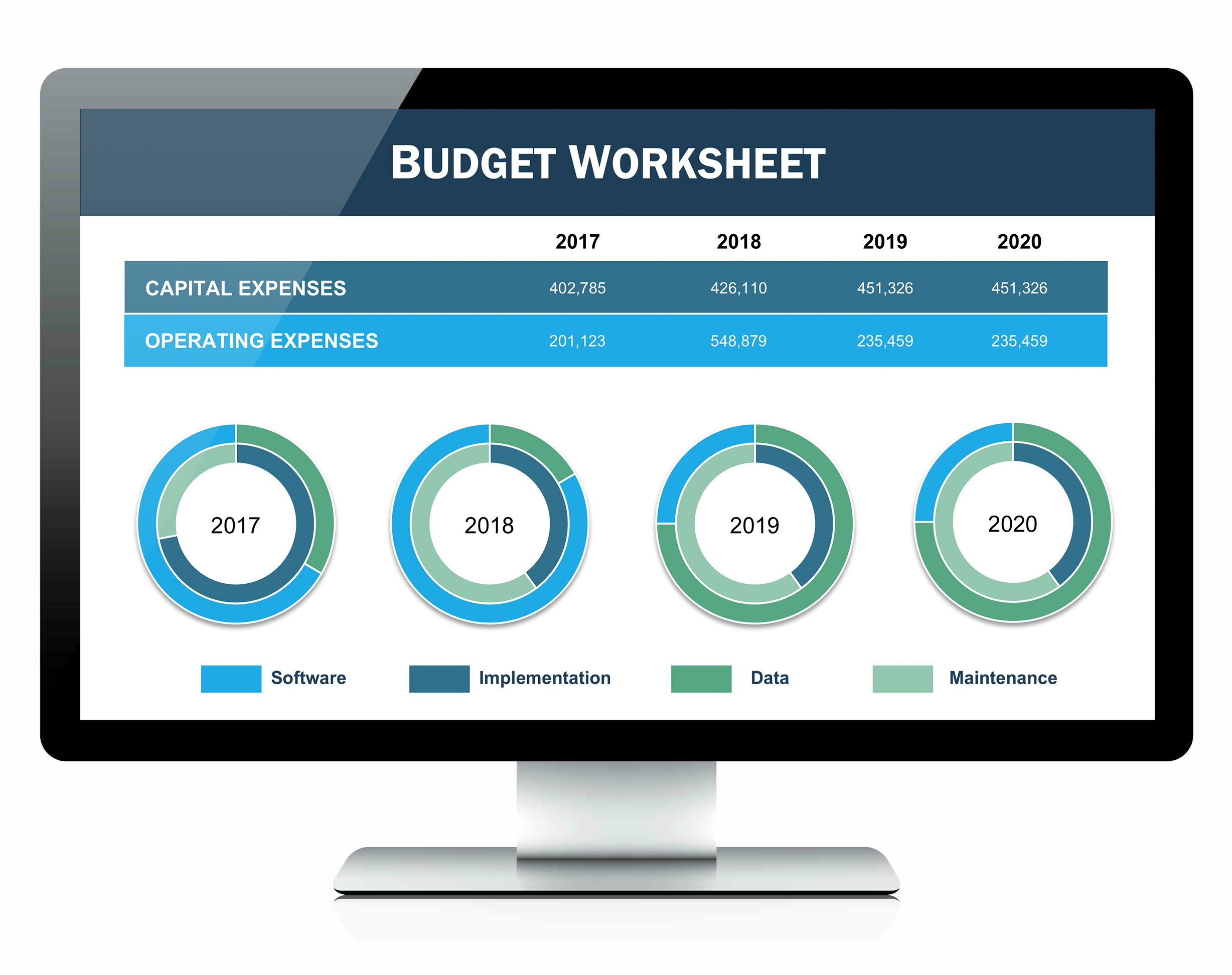 Budget Spreadsheet Examples   Resourcesaver Within Budget Spreadsheet App