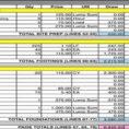 Building Construction Estimate Spreadsheet Excel Download As For Excel Spreadsheet For Construction Estimating