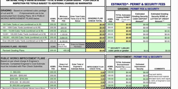 Building Construction Estimate Spreadsheet Excel Download New And Construction Estimate Spreadsheet