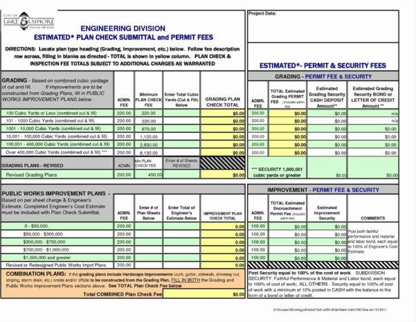Building Construction Estimate Spreadsheet Excel Download New For Estimating Spreadsheets