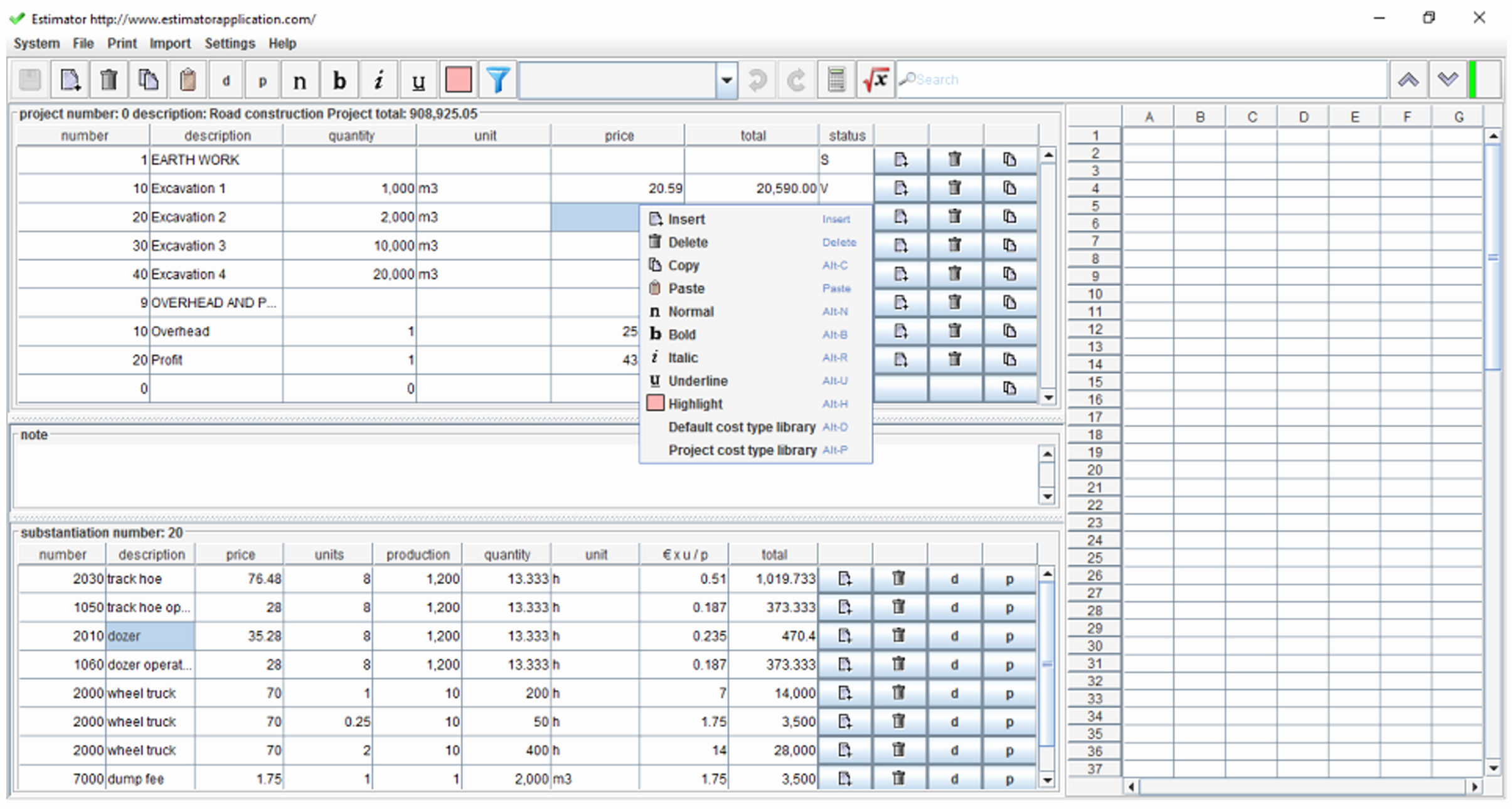 Building Construction Estimate Spreadsheet Excel Download New To Construction Estimate Spreadsheet