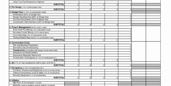 Building Construction Estimate Spreadsheet Excel Download Unique 50 Intended For Home Building Cost Estimate Spreadsheet