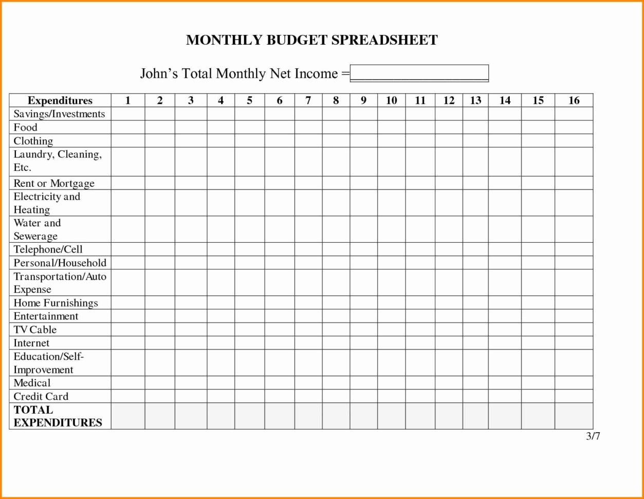 Business Budget Template Excel Beautiful Business Monthly Bud Intended For 12 Month Business Budget Template Excel
