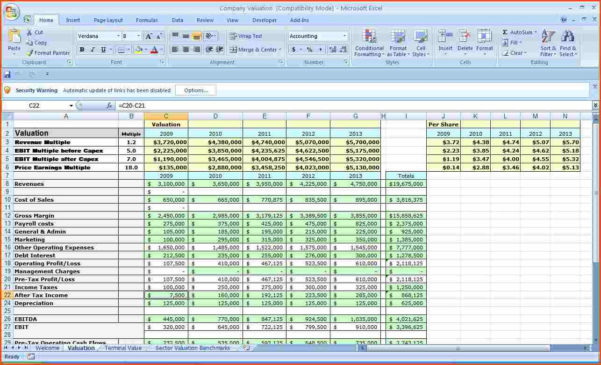 Business Budget Template Excel Fresh Business Budget Template Excel Within Budget Template Excel