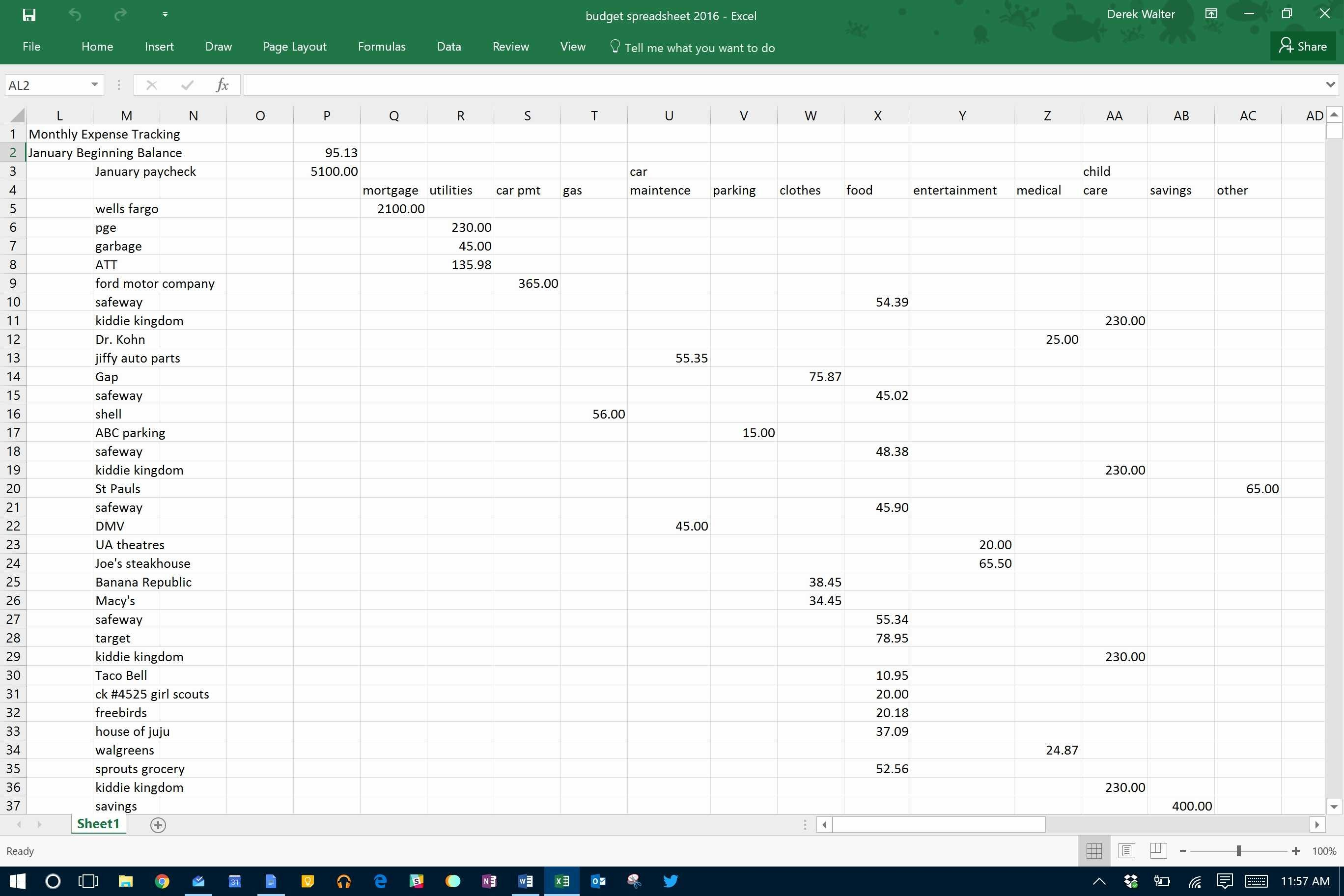 Business Budgeting Template Best Business Expense Tracker Template With Business Expense Tracker Excel Template