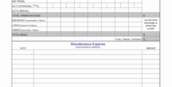 Business Expense Log Template Inspirational Detailed Expense Report With Detailed Expense Report Template