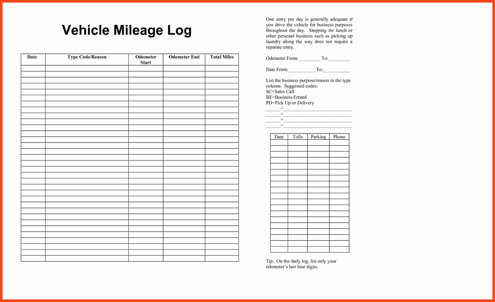 Business Expenses Form Template Free Downloads Business Expense Form Within Business Expenses Template Free Download