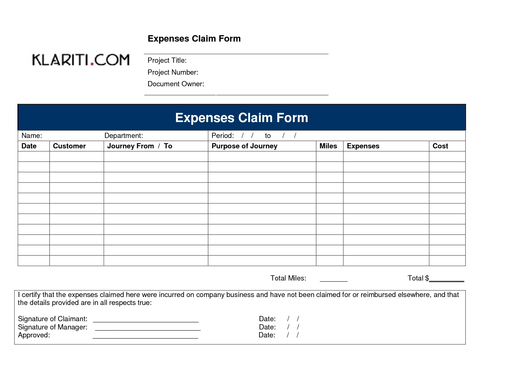 Business Expenses Form Template New Small Business Expense And Business Expenses Claim Form Template