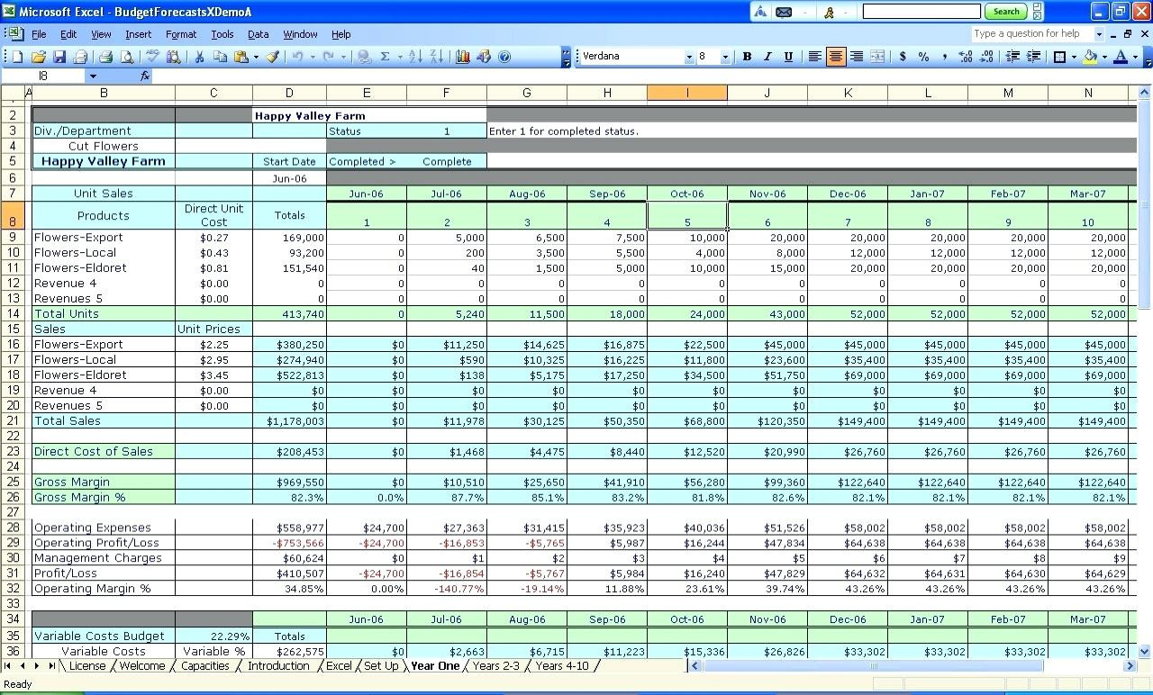 Business Expenses Spreadsheet Template Excel Expense Basic ...