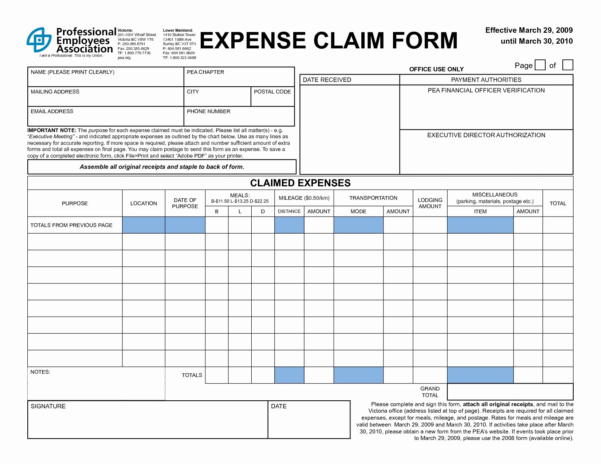 Business Expenses Template New Business Expense Form Inspirational In Business Expenses Form Template
