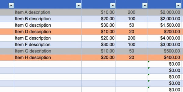 Business Inventory Spreadsheet For Small Awesome Of Efficient Then With Business Inventory Spreadsheet