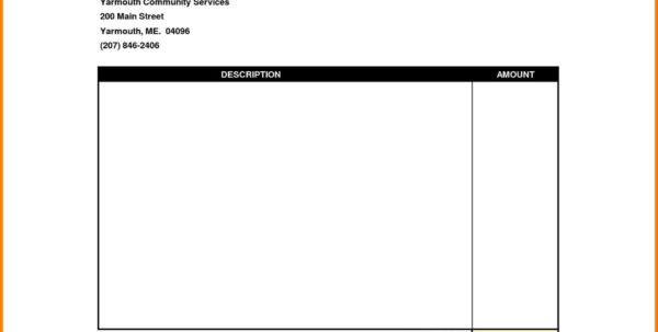 Business Invoice Template Care Invoice Template Sample Simple With Simple Expense Form