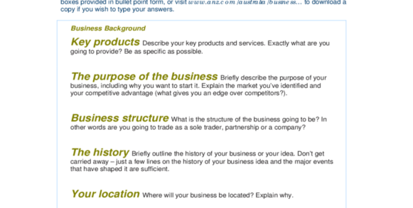 Business Plan Form   6 Free Templates In Pdf, Word, Excel Download Intended For Form Business Plans
