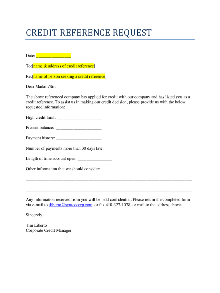 Business Reference Template Word   Durun.ugrasgrup Inside Business Credit Reference Form
