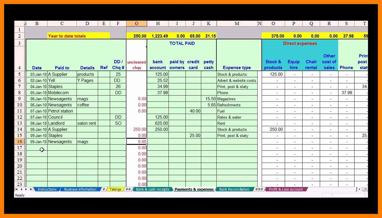 Business Spreadsheet Templates   Resourcesaver With Free Business Spreadsheets