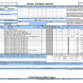 Business Travel Expense Report Template 7 Achievable Or Reports Inside Business Travel Expense Report Template