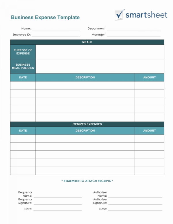 Business Travel Expense Report Template Valid Daily Expenses Sheet With Business Expense Report Template