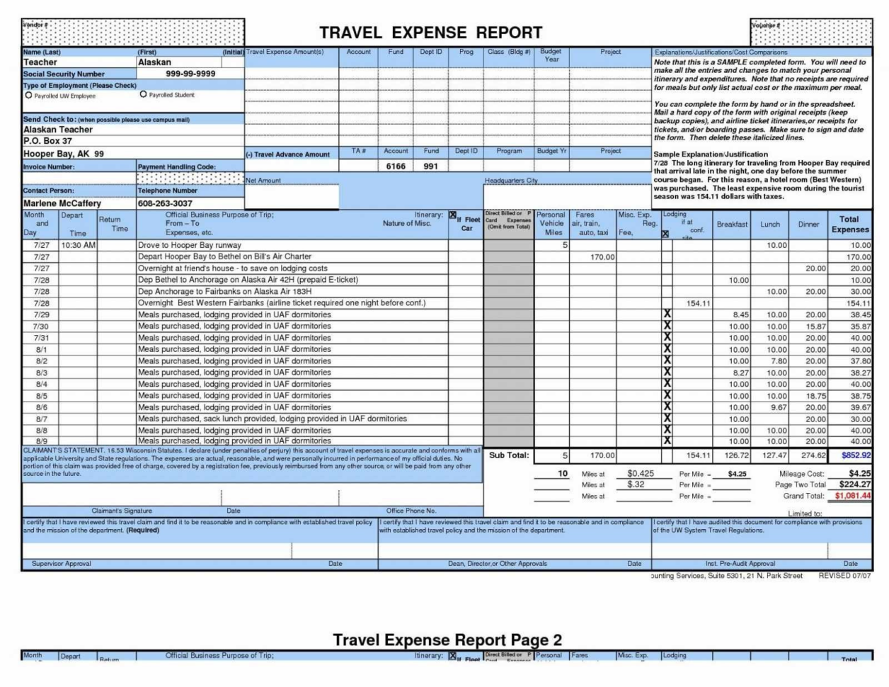 Business Travel Itinerary Template Excel 2018 Business Trip Expenses With Business Trip Expenses Template