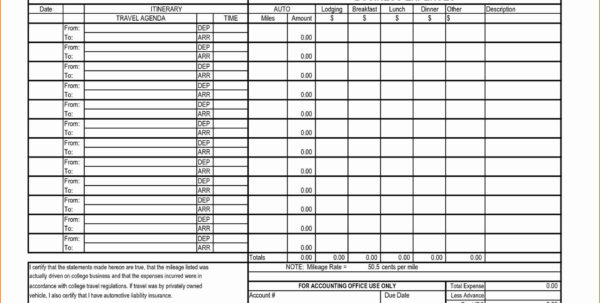 Business Travel Log Template Elegant Expense Reconciliation Template In Excel Business Travel Expense Template