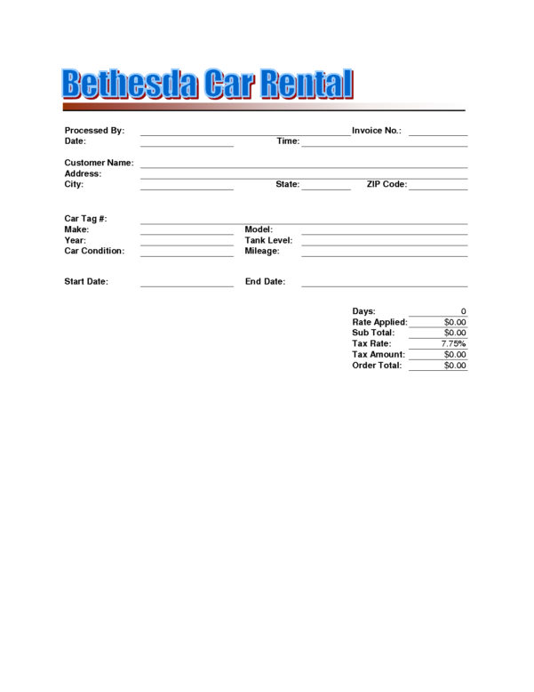 Car Rental Invoicepyj Resume Templates Rent Template Free Dow For Rent Invoice Template