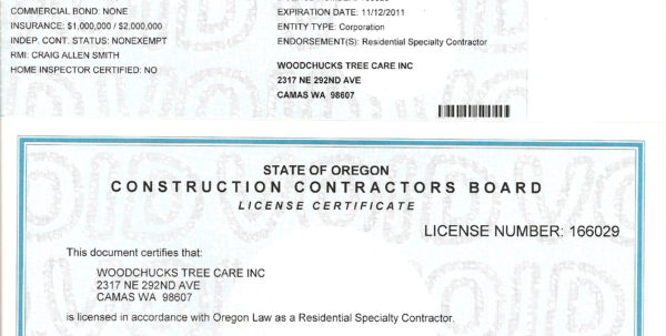 Carriage House Plans: Business License Oregon Throughout Business License Samples