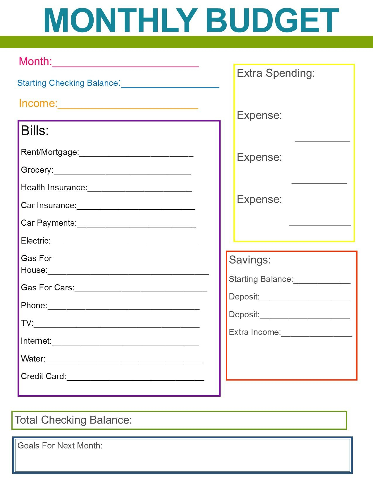 Cedecfbefff Perfect Family Financial Planning Template For Monthly Financial Planning