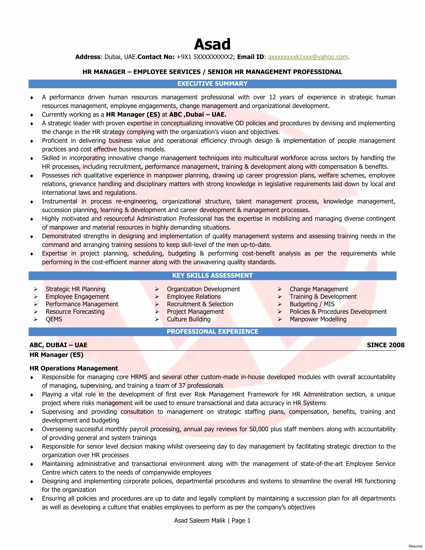 Change Management Resumes New Lovely Resume Free Templates In Businessballs Project Management Templates