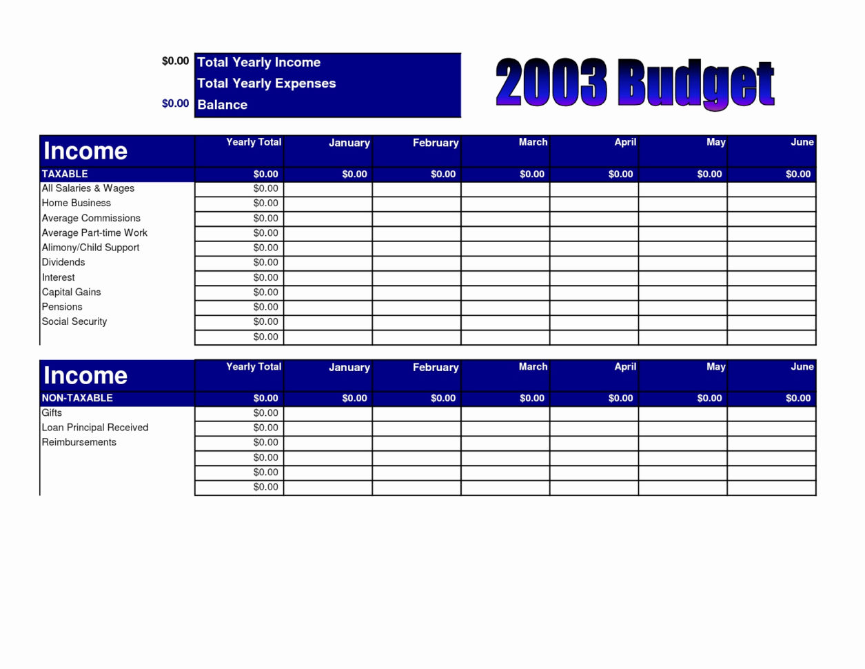 Church Budget Worksheet Worksheets For All Download And Share Church For Church Budget Spreadsheet